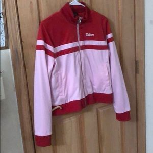 Wilson pink and red jacket